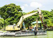 Floating Excavator