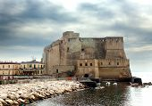Castel dell'Ovo (Egg Castle) Italy. Naples.