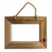 Holz-Bilderrahmen - isoliert werden können.