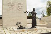 Statue at American War Cemetery Margraten