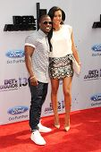 LOS ANGELES - JUN 30: Kevin Hart, Eniko Parrish at the 2013 BET Awards at Nokia Theater L.A. Live on