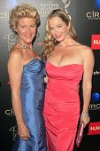 BEVERLY HILLS - JUN 16: Alley Mills, Jennifer Gareis at the 40th Annual Daytime Emmy Awards at The B