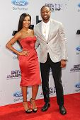 LOS ANGELES - JUN 30: Gabrielle Union, Dwyane Wade at the 2013 BET Awards at Nokia Theater L.A. Live