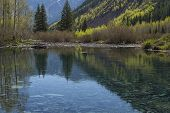 Mountain River Reflections