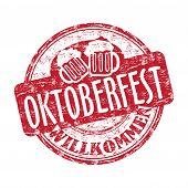 Oktoberfest-Grunge-Stempel