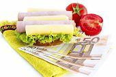 Sandwich And Money