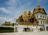 Bangkok hermosa sala del trono.