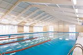 Indoors swimming pool