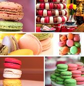Colorful Macaroons Collection Set