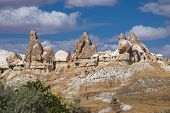 Beautiful Crags Of Cappadocia