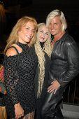 Calista Carradine, Fawn and Daniel DiCriscio  at