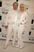 Dr. Benveniste and Donna Spangler at the Cadillac Men's Fragrance Celebrity White Party, Style Lounge, Studio City, CA. 06-29-10