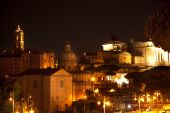 Forum Capitoline Hill Night Rome Italy