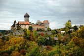 Sovinec Castle in northern Moravia