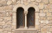 Window Of Romanesque Church