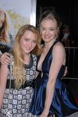 Kathryn Newton and Amanda Seyfried at the