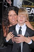Braeden Reed and mother  at the