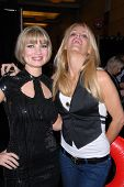 Rena Riffel and Gena Lee Nolin at the Hollywood Collectors Show, Burbank Airport Marriott Hotel & Convention Center, Burbank, CA. 02-13-10