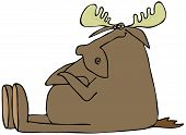 Obstinate moose