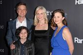 Peter Krause, Monica Potter, Sarah Ramos and Max Burkholder at the