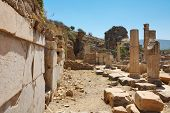 Ruins Of Ancient Epesus. Selcuk. Turkey