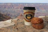 Usa- Grand Canyon, Coffee And Muffin