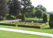 Gardens At Lanhydrock Castle, England