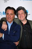 Andy Garcia and Raymond De Felitta at the