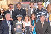Dennis Hopper, Viggo Mortensen, Jack Nicholson  at the Hollywood Walk of Fame induction ceremony for Dennis Hopper, Hollywood Blvd., Hollywood, CA. 03-26-10