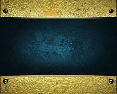foto of jade blue  - The template for the inscription - JPG