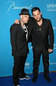 Benji Madden and Joel Madden  at the 2009 UNICEF Ball Honoring Jerry Weintraub, Beverly Wilshire Hotel, Beverly Hills, CA. 12-10-09