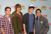 Logan Henderson, Kendall Schmidt, James Maslow and Carlos Pena at Variety's 3rd Annual
