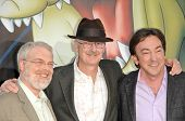 Ron Clements, John Musker and Peter Del Vecho at the