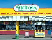 The Nathan s original restaurant New York City