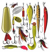 Artificial fishing baits