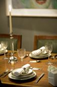 Table Setting In A Private Dining Room