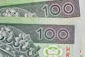 image of zloty  - Polish colorful banknotes - JPG