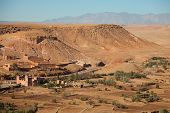 Neighborhood of Ait-Ben-Haddou,  Morocco
