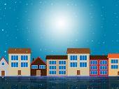 Sun Houses Shows Sunny Metropolis And Metropolitan