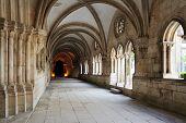 Cloister Of Monastery De Santa Maria, Alcobaca, Portugal