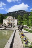 Linderhof palace and garden