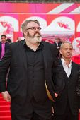 MOSCOW - JUNE, 19: American actor Kristian Nairn (Hodor, Game of Trones). 36th Moscow International
