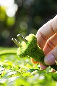 eco electric plug concept