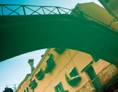 Old bridge reflection