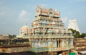 stock photo of trichy  - Sri Ranganathaswamy Temple  - JPG