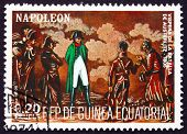Postage Stamp Equatorial Guinea 1972 Battle Of Austerlitz