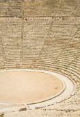 Antiguo teatro de Epidauro, Grecia. El teatro es el más grande teatro sobreviviente en Grecia y el Mar