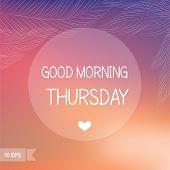 Thursday?