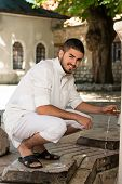 Portrait Of Young Arab Saudi Emirates Man