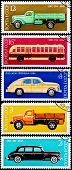 Post Stamps From Soviet Union